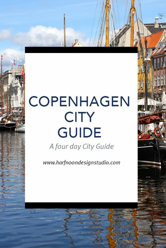 COPENHAGEN CITY GUIDE I FOUR DAYS I KIDS TRAVEL GUIDE IN COPENHAGEN