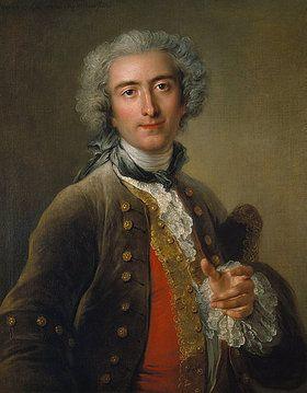 Charles Antoine Coypel: Portrait of Philippe Coypel. 1732