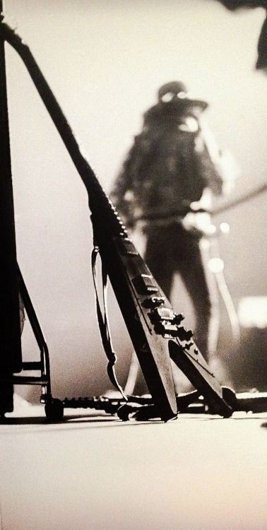 Gibson Flying V waiting for it's turn with Jimi Hendrix
