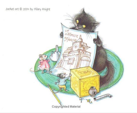"""A Firefly in a Fir Tree: A Carol for Mice"" by Hilary Knight  (http://www.amazon.com/Firefly-Fir-Tree-Carol-Mice/dp/B000VYTXD0/ref=la_B001IODICO_1_17?ie=UTF8=1348384900=1-17#)"