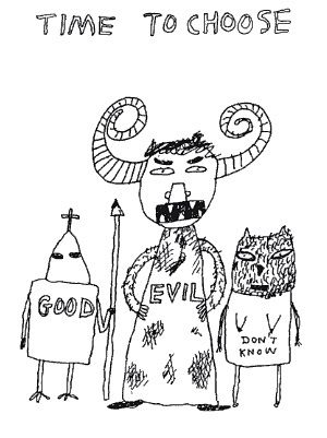 David Shrigley does it again.: