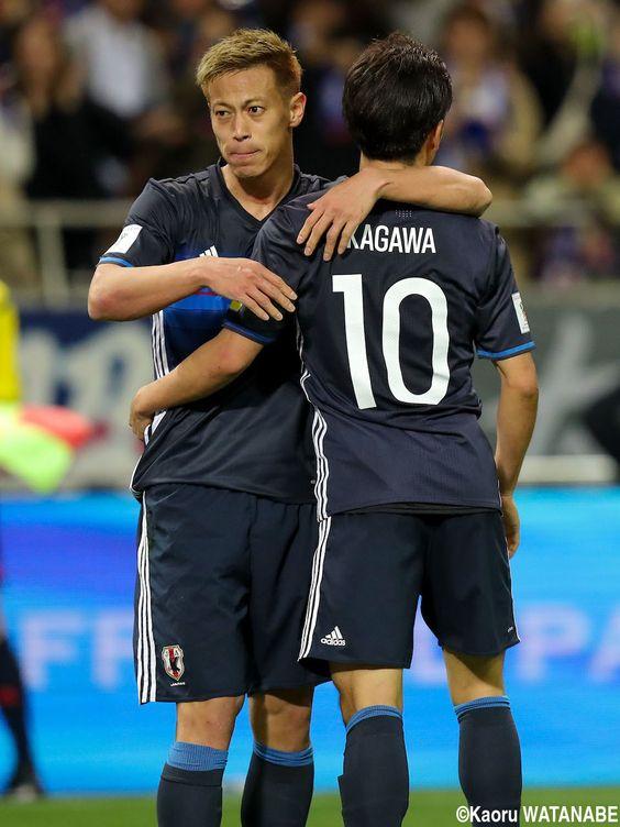 香川真司さんと本田圭佑さん