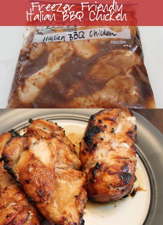 Italian Barbecue Chicken