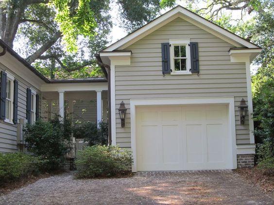 detached garage with breezeway - Google Search