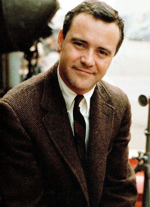 Jack Lemmon-very handsome and very funny.  He always makes me laugh!