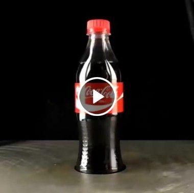 Garrafinha de coca-cola quase indestrutível.