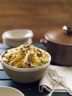 parship & orange couscous