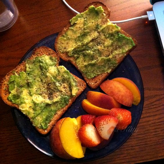 Avocado Toast is a great option for breakfast