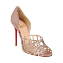 From the 20th Anniversary Louboutin collection at Barneys.