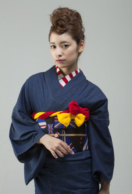 Denim's Kimono / S.I /montage