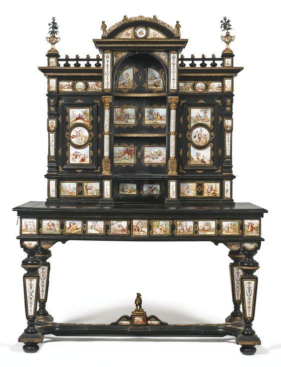 Антикварная мебель с росписью по фарфору и эмали, XIX столетие. Обсуждение на…