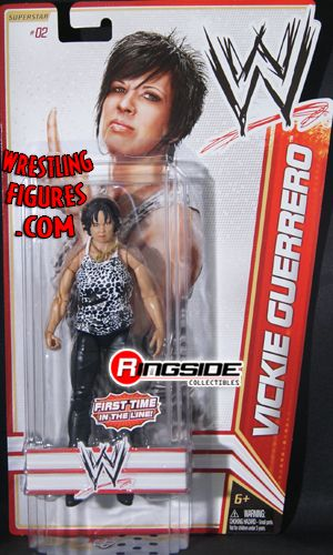 RINGSIDE COLLECTIBLES WWE Toys, Wrestling Action Figures, Jakks Pacific, Classic Superstars Action F: VICKIE GUERREROWWE SERIES 13WWE Toy Wrestling Action Figure