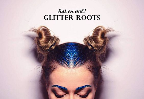 Glitter Roots: hot or not?