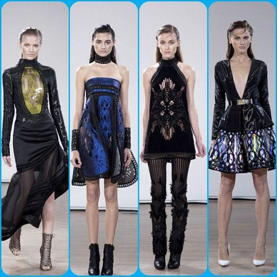 "Tex Saverio ""Fantasy Made Reality"" Spring/Summer 2014, Paris   Glamour Goddess"