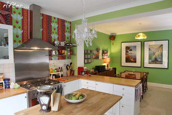 @shootboutique's kitchen diner makeover and knock through