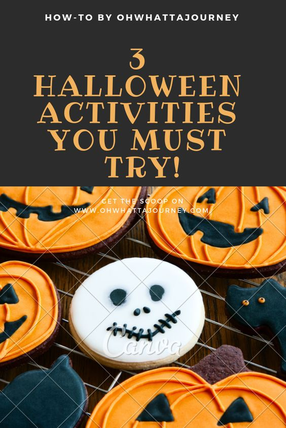 Halloween Activities you must try!