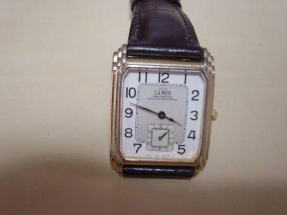 Citizen アンティークシチズンクラブLAMERの腕時計角型薄型 Watch Antique ¥5000yen 〆05月20日
