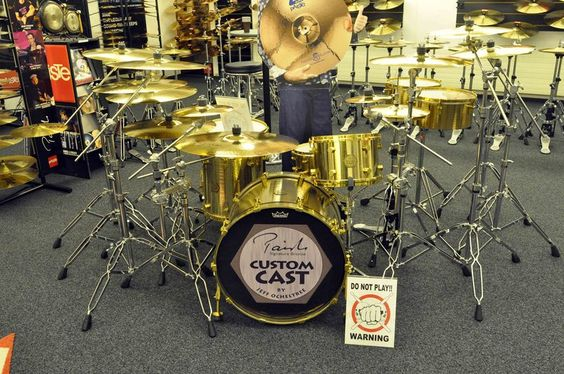 Paiste Signature drums