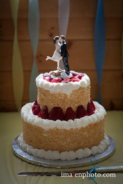 Cake Designs At Sobeys : Strawberry-shortcake wedding cake. Perfect for a BBQ ...