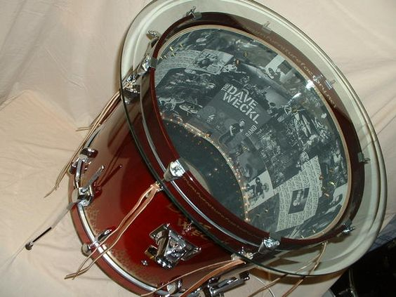 Drum Table  Remember this for J and when/if I find a drum at a yard sale.