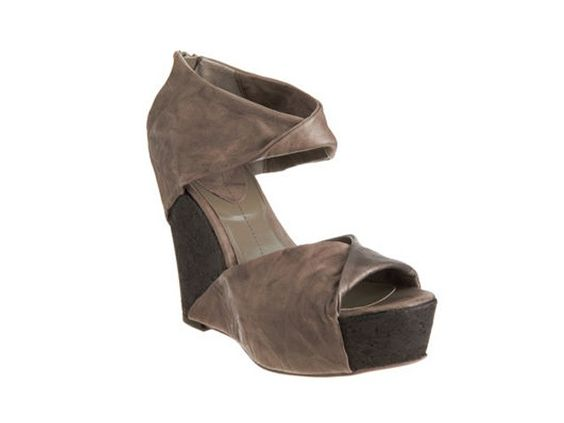 omg. this shoe is magnificent. love the twist - wedge. barney's ny.