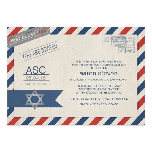 >>>Low Price Guarantee          Air Mail Letter Bar Mitzvah Personalized Invite           Air Mail Letter Bar Mitzvah Personalized Invite online after you search a lot for where to buyReview          Air Mail Letter Bar Mitzvah Personalized Invite today easy to Shops & Purchase Online - tra...Cleck Hot Deals >>> http://www.zazzle.com/air_mail_letter_bar_mitzvah_personalized_invite-161192994939535991?rf=238627982471231924&zbar=1&tc=terrest