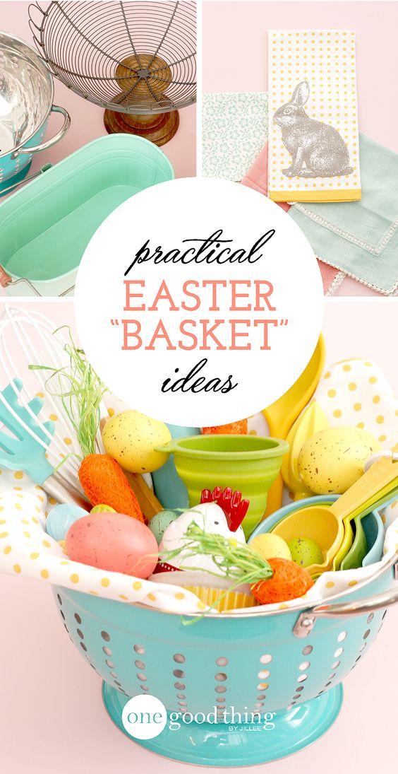 Practical Easter Basket Ideas Pinterest Shelves