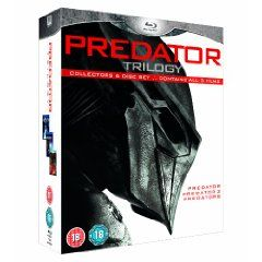 Predators Trilogy [Blu-ray], (aliens, blu-ray, predator, science fiction, box set, predators, sigourney weaver, anthology, action, science fiction movies)