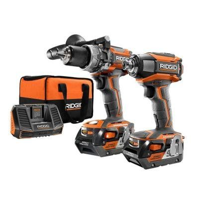 RIDGID GEN5X Brushless 18-Volt Compact Hammer Drill/Driver and 3-Speed Impact Driver Combo Kit  http://www.handtoolskit.com/ridgid-gen5x-brushless-18-volt-compact-hammer-drilldriver-and-3-speed-impact-driver-combo-kit/