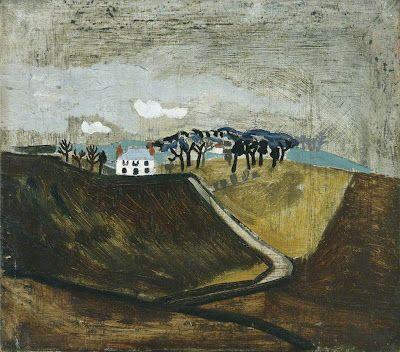 1930 Cumberland Farm. Ben Nicholson