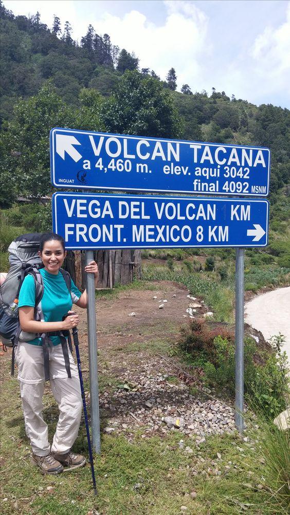 Volcán Tacaná, Chiapas, México