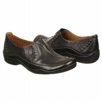 Clarks Kessa Grace Shoes (Black Leather) - Women's Shoes - 10.0 M