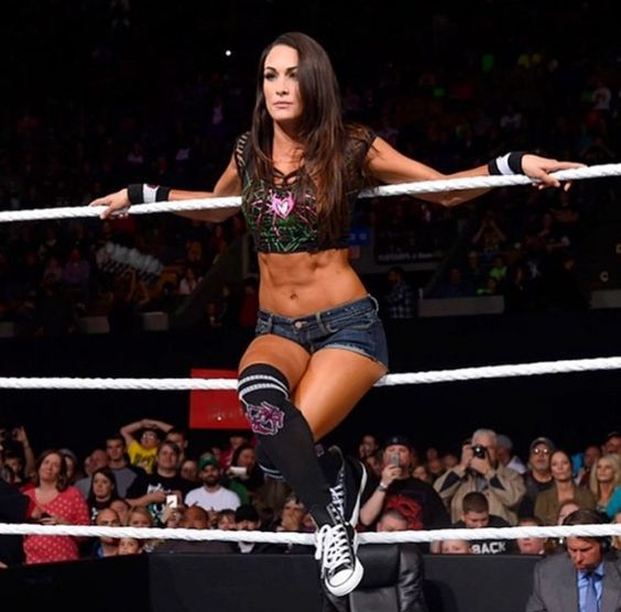 Brie Bella can pull off anything. God she's perfect and beautiful