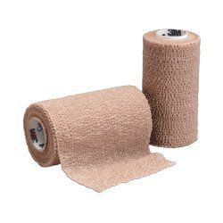 """COBAN SELF-ADHERENT WRAP, STERILE, 4"""" X 5 YD ROLL by 3M. Save 61 Off!. $8.79. COBAN SELF-ADHERENT WRAP, STERILE, 4"""" X 5 YD ROLLFunctions like a tape, but sticks only to itselfLaminate of nonwoven material and elastic fibers placed lengthwise to provide elasticitySticks to itself without need for adhesive, pins or clipsFast and easy applicationWrap will not slip, eliminating need for frequent readjustmentComfortable, lightweight and porousProtects primary dressingsProvides desire..."""