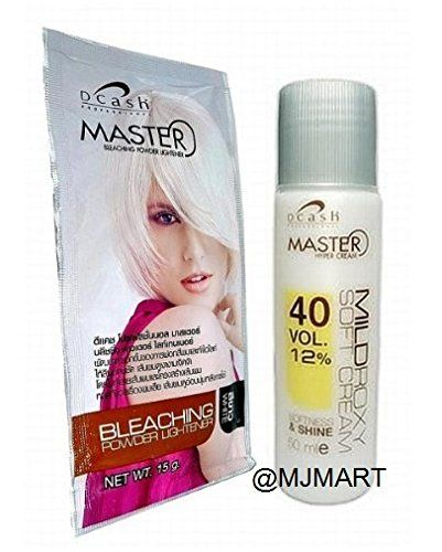 Dcash Hair Bleach Color Hair Dye Lightening Powder Kit -- Click on the image for additional details.