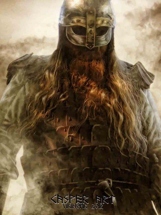 Viking warrior Jaroslav Novak by thecasperart.deviantart.com on @deviantART