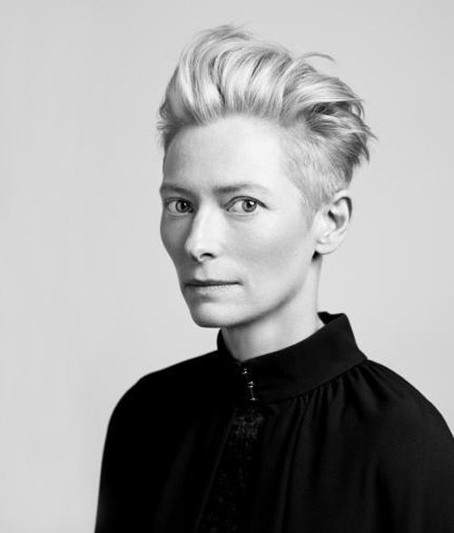 """Tilda Swinton: """"I'm basically interested in identity, and I still find fascinating the question: How do we identify ourselves, and how do we settle into other people`s expectations for our identity?"""""""