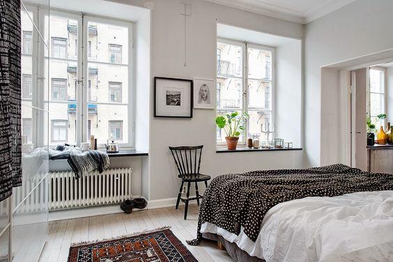 Apartament de 53 m² amenajat în stil scandinav