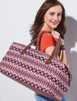 Jazz up your look with ethnic prints, exotic colors and fab fabrics.