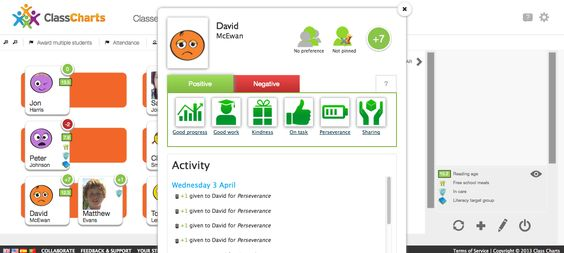 Free Technology for Teachers: Class Charts - A Nice Tool for Tracking Student Attendance and Behavior