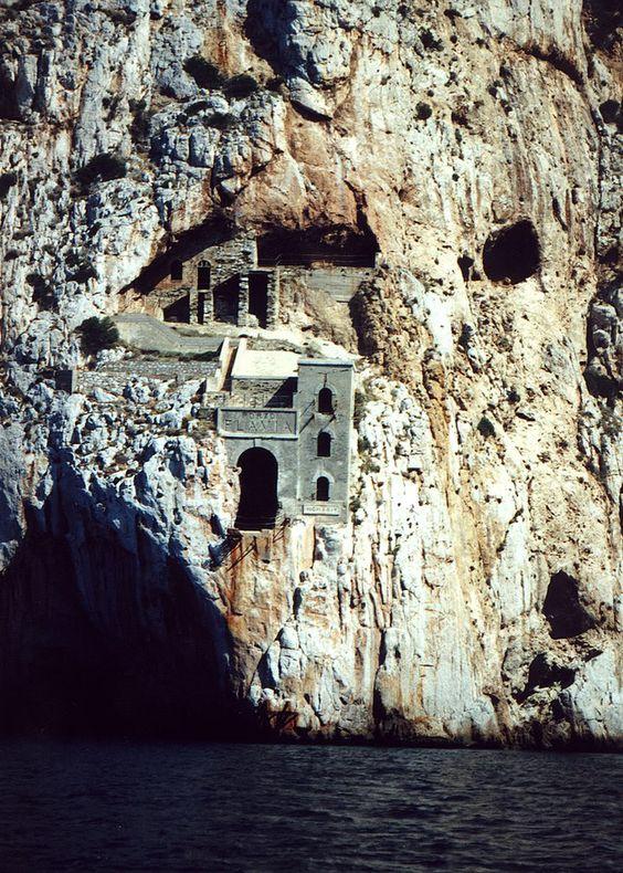 Porto Flavia #Nebida #Sardegna #Italia #mines #awesomeplace