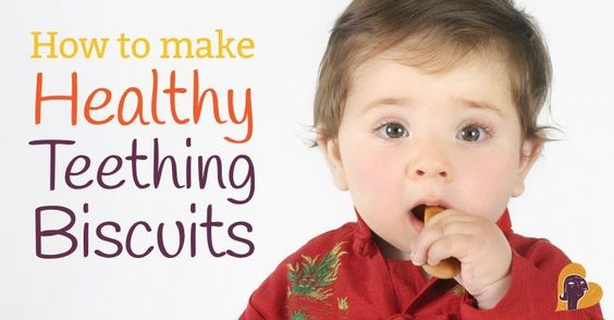 Store-bought teething biscuits (even the organic ones) are filled with junk: corn syrup, soybean oil, etc. Here are some better, homemade alternative recipes!