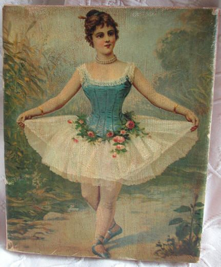 Ballerina Decoupage, art, Shabby chic, cottage and French Country