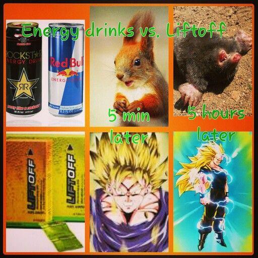 Liftoff vs energy drinks