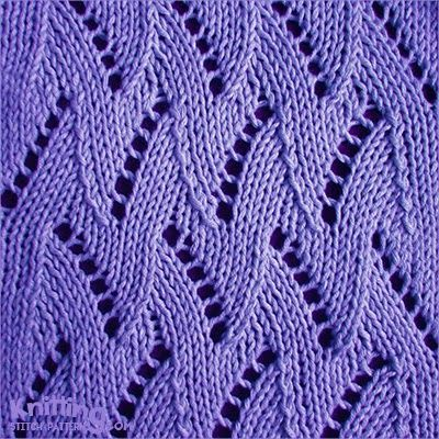 Zig Zag Knitting Stitch Pattern : zigzag-chevron-stitches Knitting Stitch Patterns Lace ...