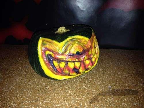 Kürbis schnitzen Tutorial DIY Halloween