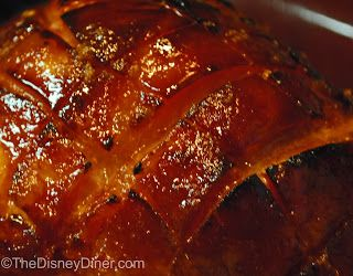 Honey Ham Glaze~ 1 stick of unsalted butter  1/2 cup brown sugar  1/2 cup honey  additional brown sugar for sprinkling