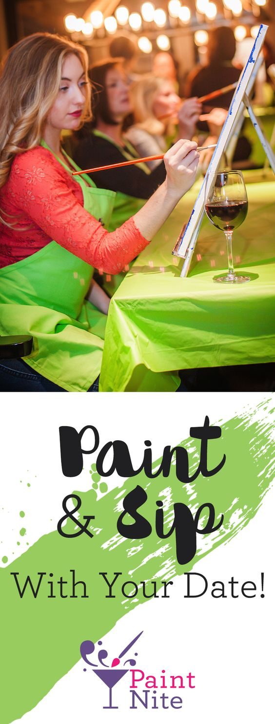 Redefine your idea of a fun night out—gather a group of friends and head to Paint Nite, where you'll drink, socialize, and paint a gorgeous image to take home. https://www.paintnite.com/?utm_source=SF_Pint_USCA&utm_medium=2.8P