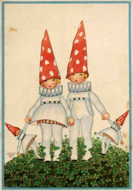 I just love this image...no idea what book it is from...wonderful child's book illustration