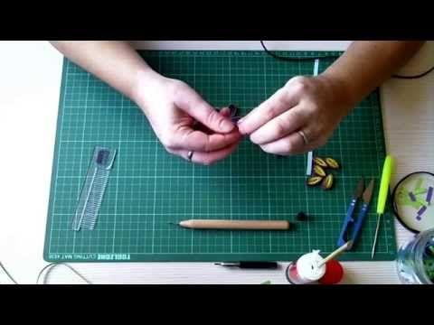 ▶ Tutorial 3: Quilling - Como hacer flores Bellas! - YouTube